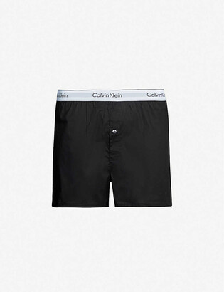 Calvin Klein Modern Cotton slim-fit boxer shorts pack of two