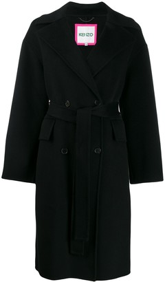 Kenzo Double Breasted Coat