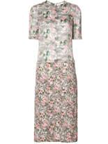 Julien David Floral Print Dress - Multicolor - Size XS