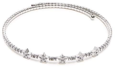 Miu Miu Star Crystal Embellished Choker - Womens - Crystal