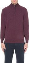 Brunello Cucinelli Zip-detail cashmere jumper