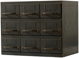 Rejuvenation Small 9-Drawer Equipto Parts Cabinet c1945