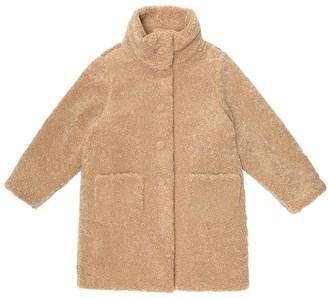 Il Gufo Faux shearling teddy coat