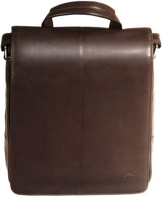 Colombian RFID-Secure Mancini Leather Crossbody