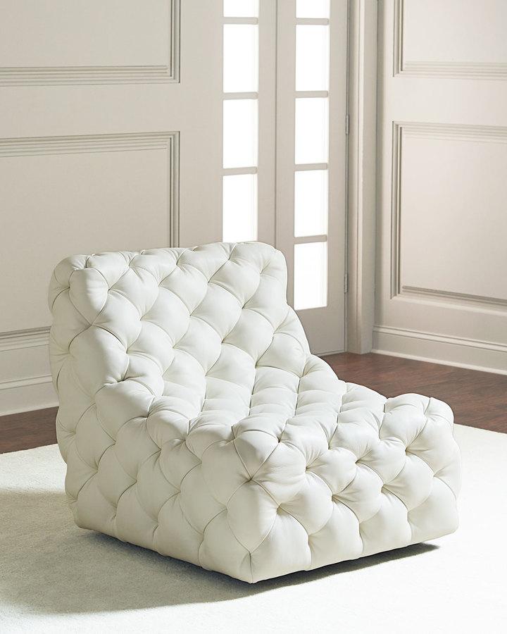 Bernhardt Dunaway Tufted Swivel Chair