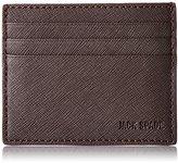 Jack Spade Men's Barrow Leather 6 Card Holder