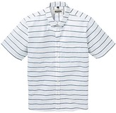 Jacamo Barrett Short Sleeve Stripe Shirt Long