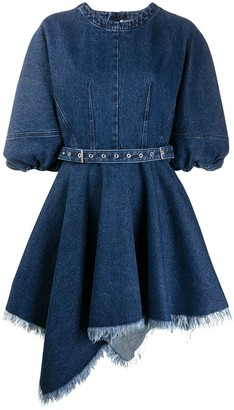 Marques Almeida Belted Denim Dress