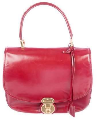 Balenciaga Leather Saddle Bag