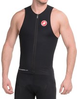 Castelli Body Paint Tri Top - UPF 50+, Full Zip, Sleeveless (For Men)