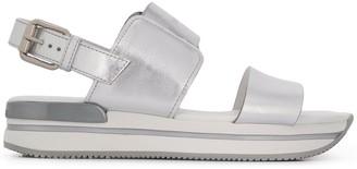 Hogan Open-Toe Sandals