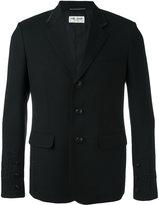 Saint Laurent trim detail jacket - men - Virgin Wool/Cotton/Silk - 48
