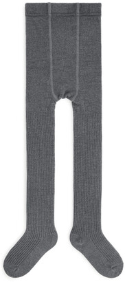 Arket Wool Rib Tights