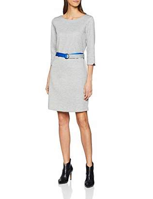 S'Oliver Women's 21.811.82.8695 Dress, (Silver Grey Melange 9700), 10 (Size: )