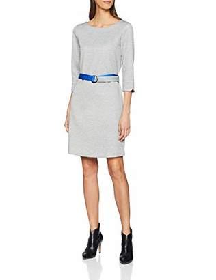 S'Oliver Women's 21.811.82.8695 Dress, Silver Grey Melange 9700, 16 (Size: )