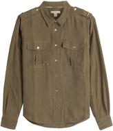 Burberry Silk Uniform Shirt