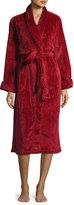 Natori Divine Sculpt Plush Robe, Red