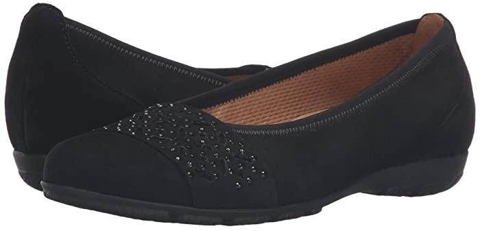 Gabor Gabor 54.160 Tan Samtchevreau Womens Flat Shoes