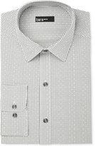 Bar III Men's Slim-Fit Shadow Gingham Dot Dress Shirt, Only at Macy's