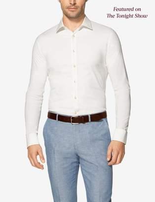Tommy John Tommyjohn Slim Fit Stay-Tucked Dress Shirt