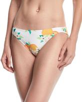 Kate Spade Tropical Fruit & Floral Hipster Bikini Bottom