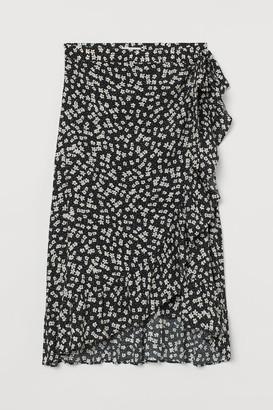 H&M MAMA Wrapover skirt