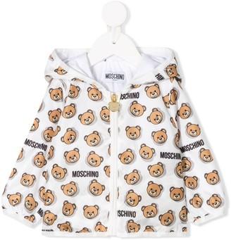 Moschino Kids teddybear print jacket
