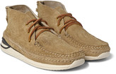Visvim - Voyageur Moc-folk Distressed Suede Sneakers