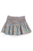 Girl's Peek Pixie Floral Print Skirt