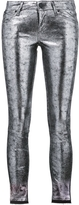RtA Metallic Leather Leggings
