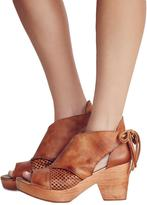 Free People Revolver Wood Bootie