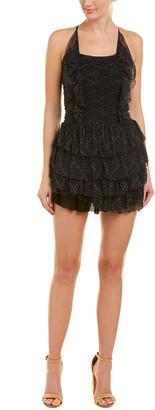 Isabel Marant Tiered Ruffle Mini Dress