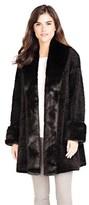 Donna Salyers' Fabulous-Furs Persian Lamb Tuxedo Coat.