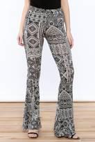 Cherish Print Flare Leggings