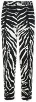 Dolce & Gabbana Zebra Print Cropped Trousers