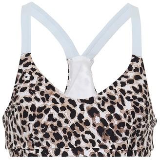 The Upside Larri leopard-print sports bra