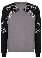 Valentino Cashmere Panther Jumper