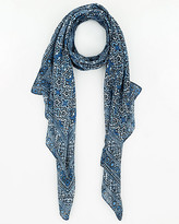 Le Château Printed Woven Lightweight Scarf