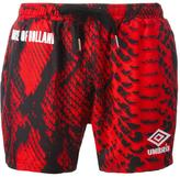 House of Holland x Umbro snakeskin print shorts - unisex - Polyester - S