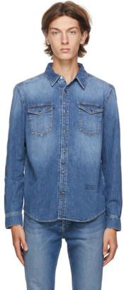 Givenchy Blue Denim Shirt