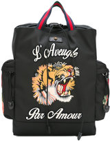Gucci L'Aveugle Par Amour backpack - men - Polyester - One Size