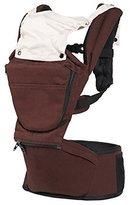 BINGONE 3-in-1 Multi-function Soft Baby Carrier Baby Backpack (coffee) by BINGONE