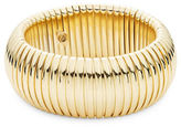 RJ Graziano Goldtone Dome Bangle Bracelet