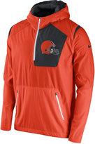 Nike Men's Cleveland Browns Vapor Speed Fly Rush Hooded Jacket