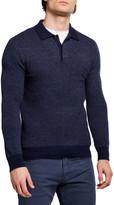 Ralph Lauren Purple Label Men's Solid Cashmere Polo Shirt