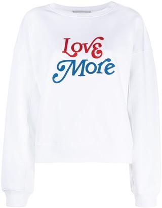 Philosophy di Lorenzo Serafini Slogan-Print Sweatshirt