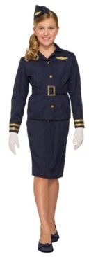 BuySeasons Toddler Girl's Stewardess Child Costume