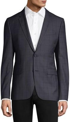 HUGO Slim-Fit Astian Plaid Suit Jacket