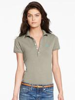 Personalization Skinny Stretch Polo Shirt