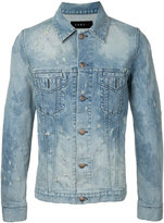 Roar distressed denim jacket